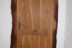 Flinston medinės durys