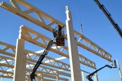 stambios medinės konstrukcijos