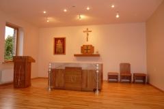 Medinis drožinėtas altorius